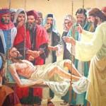 A cura do paralitico