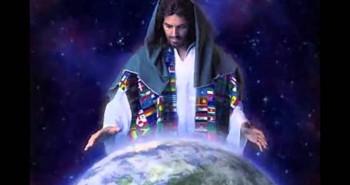 Jesus orando pelo mundo