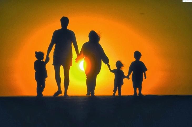 familia em luta