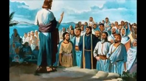 Jesus na montanha