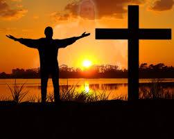 Em frente a cruz