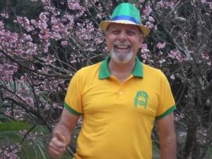 Brasileiro feliz
