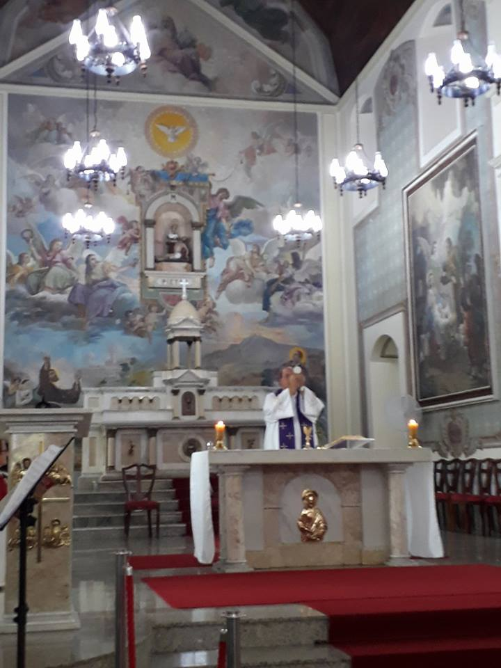 Na Igreja Matriz