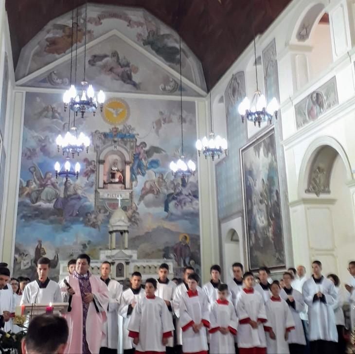 Luz na Igreja