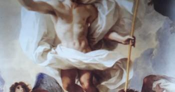 Com a cruz