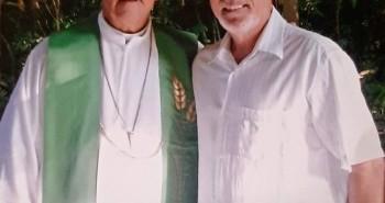 Com Dom Eduardo